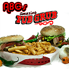 ABG's Amazing Pub Grub Menu